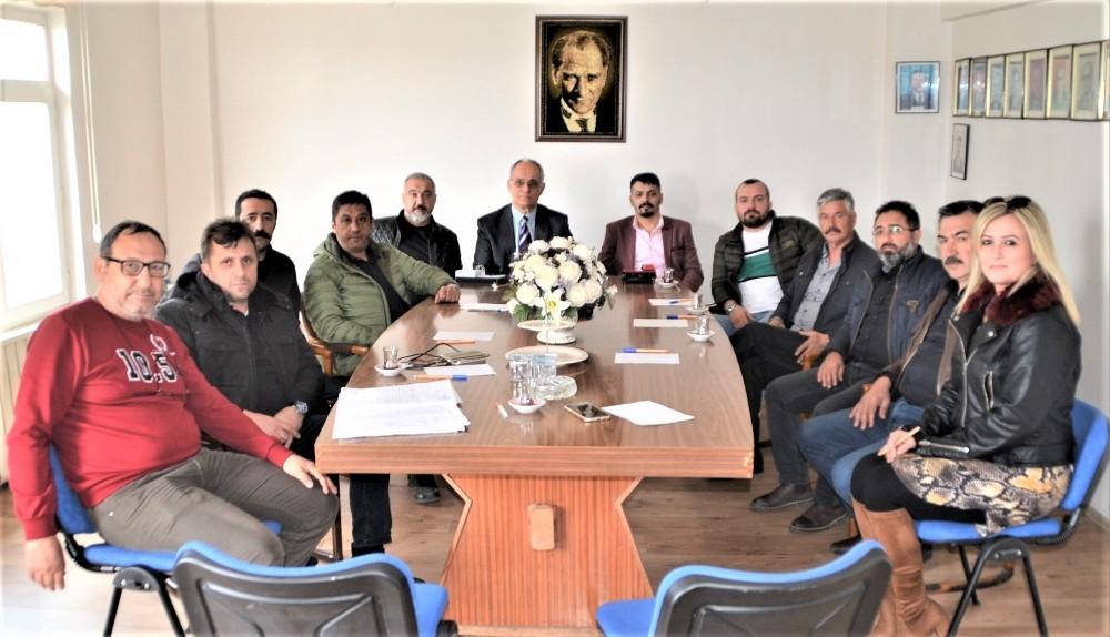 Bandırma Sanayispor'da nöbet değişimi
