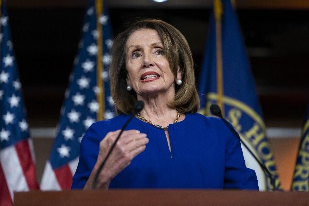 ABD Temsilciler Meclis Başkanı Pelosi 'Trump'a soruşturma açmaya değmez'