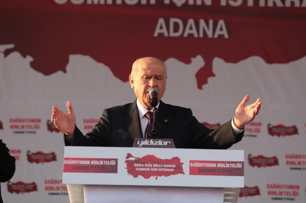 MHP Lideri Bahçeli 'Millet İttifakı Türkiye'nin karşı cephesidir, güvenlik sorunudur'