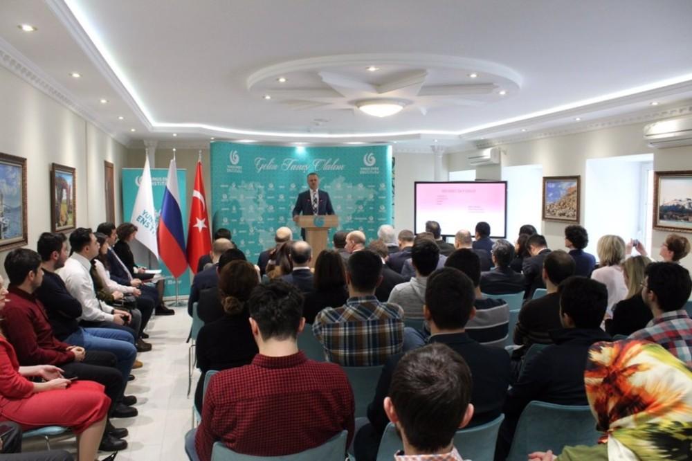 Moskova'da, İstiklal Marşı'nın kabul yıldönümü kutlandı