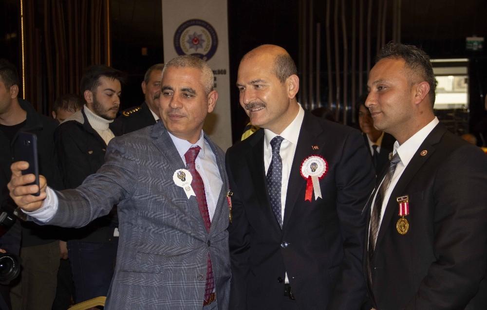 Türk Polis Teşkilatının 174. yıl dönümü yemeğine İçişleri Bakanı Soylu katıldı