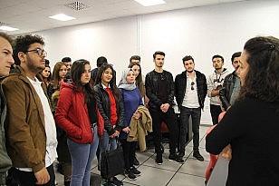 Genç havacılar Eskişehir'i ziyaret etti