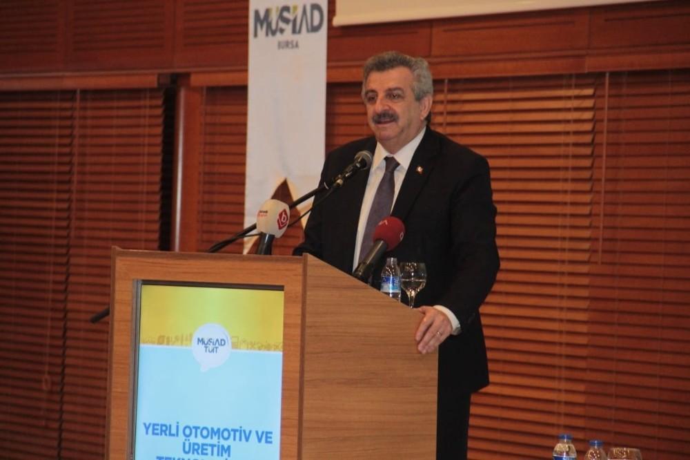 Sanayi ve Teknoloji Bakan Yardımcısı Büyükdede 'Yerli üretim merkezi Bursa'ya en yakın noktada olmak zorunda'