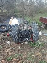 Balıkesir'de devrilen traktörün altında kalan genç öldü