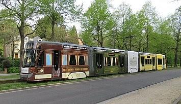 Brüksel'de 150 yıllık tramvaylar yeniden sokakta