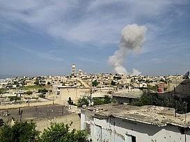 İdlib ve Hama'da hava saldırısı 2 ölü