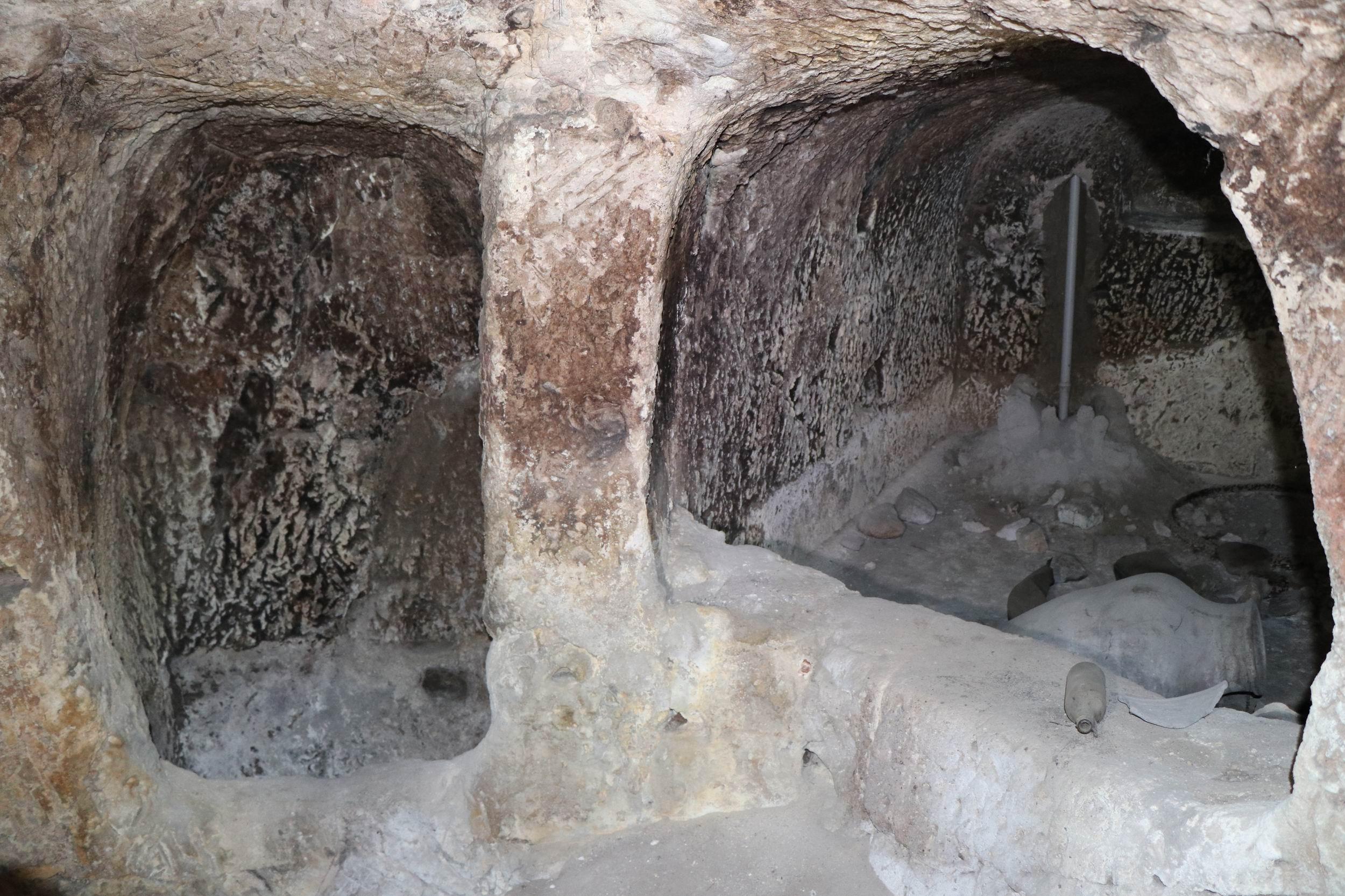KAPADOKYA'DA YENİ BİR YERALTI ŞEHRİ