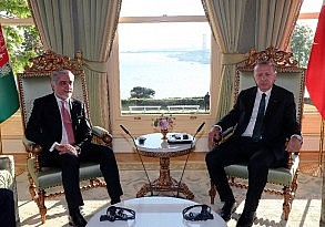 Cumhurbaşkanı Erdoğan yabancı devlet başkanlarını ağırladı