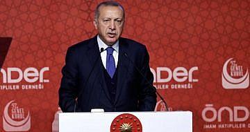 """ERDOĞAN: """"EKREM İMAMOĞLU'NU TEBRİK EDİYORUM"""""""