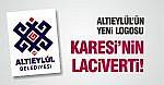 ALTIEYLÜL'ÜN YENİ LOGOSU KARESİ'NİN LACİVERTİ!