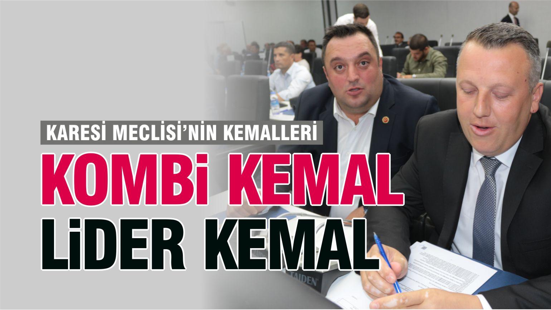 KARESİ BELEDİYE MECLİSİ'NİN KEMALLERİ