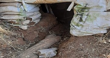 PENÇE HAREKATINDA PKK'NIN DEPOLARI İMHA EDİLDİ