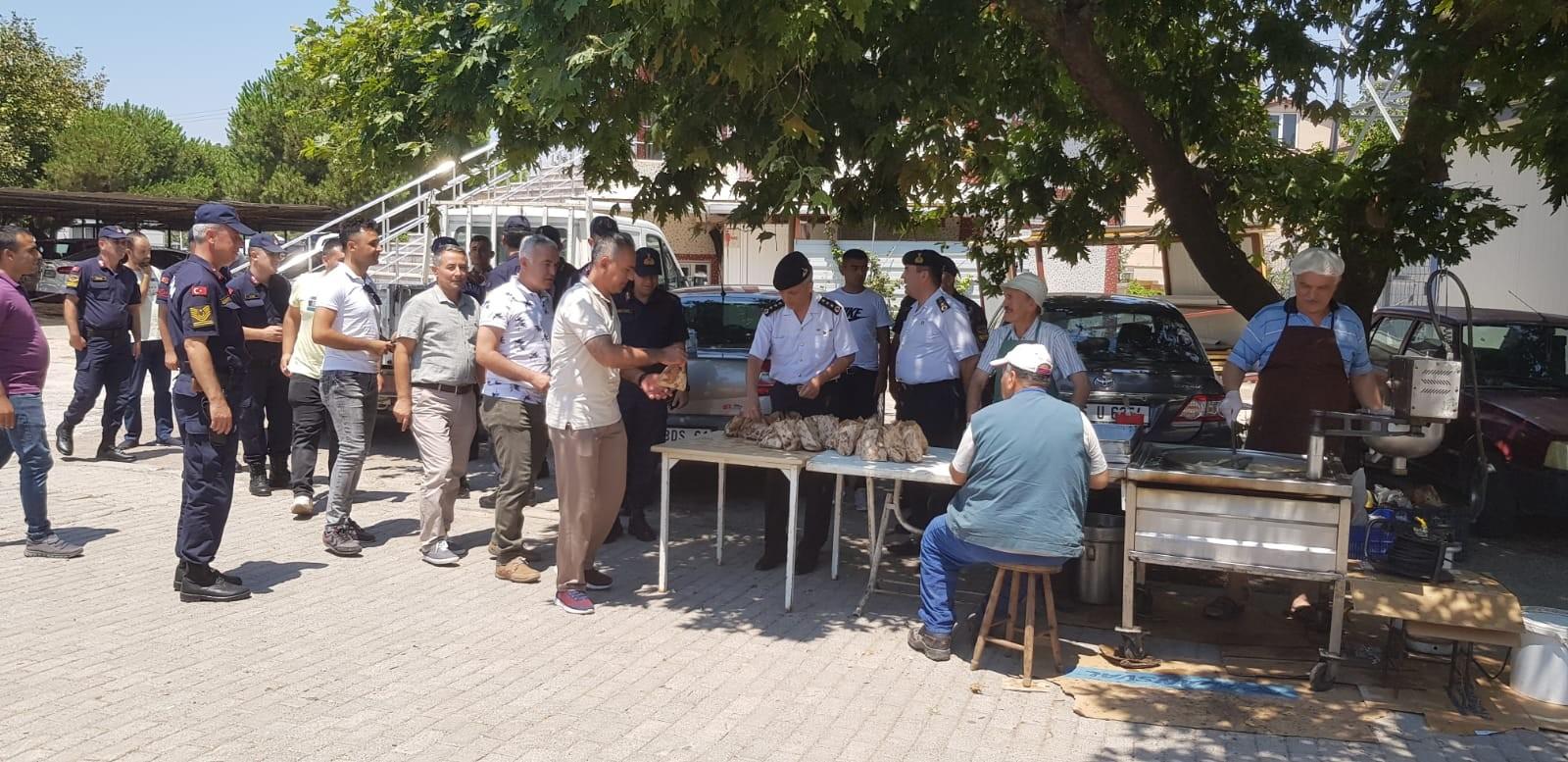 SİLAH ARKADAŞLARI ASTSUBAY ŞUAYİP TÜRKTEN'İ UNUTMADI
