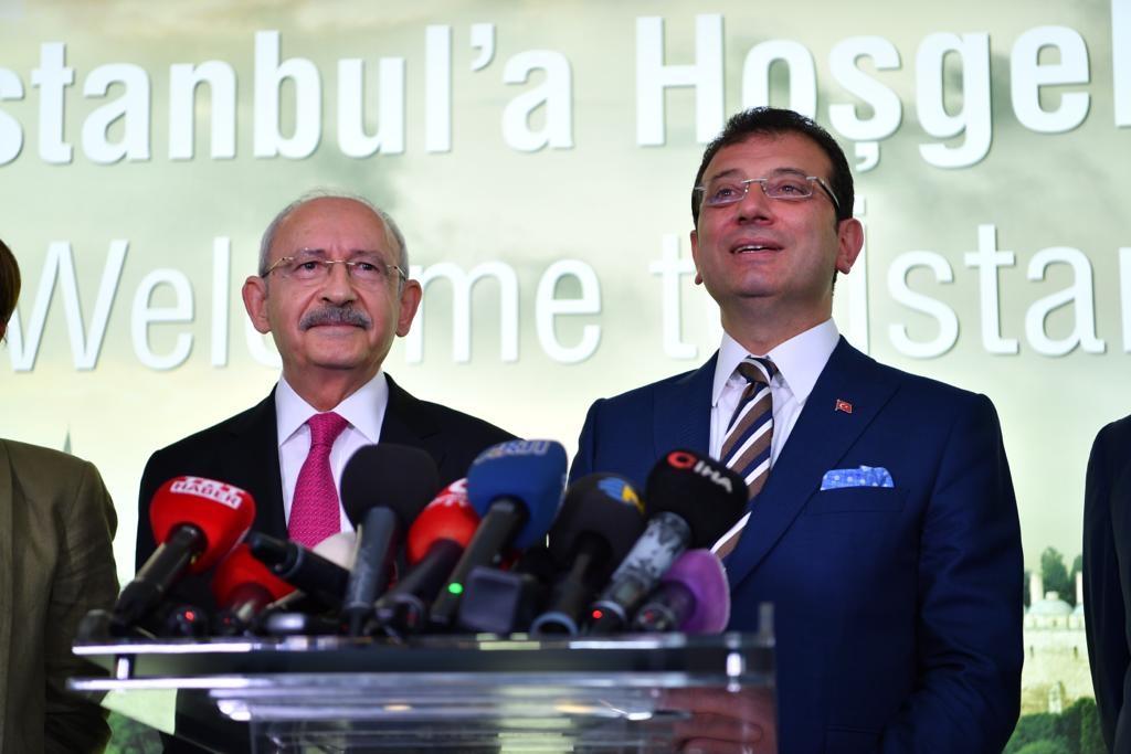 """""""İMAMOĞLU İSTANBUL'U HAK ETTİĞİ YERE TAŞIYACAK"""""""
