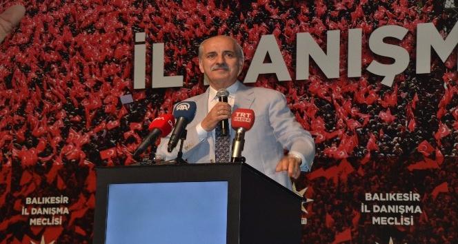 KURTULMUŞ'TAN HDP'YE ÇAĞRI: PKK İLE ARANIZA DUVAR ÖRÜN