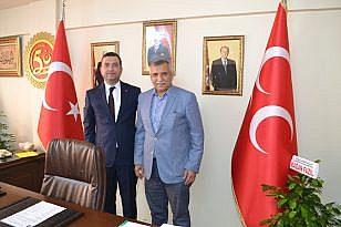 SUBAŞI'NDAN MHP'NİN YENİ İL BAŞKANI'NA TEBRİK ZİYARETİ