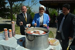 BOLLUK ANADOLU LİSESİ'NDE AŞURE HAYRI