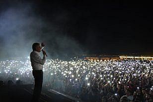 ROCK FESTİVALİNDE KAZDAĞLARI VURGUSU