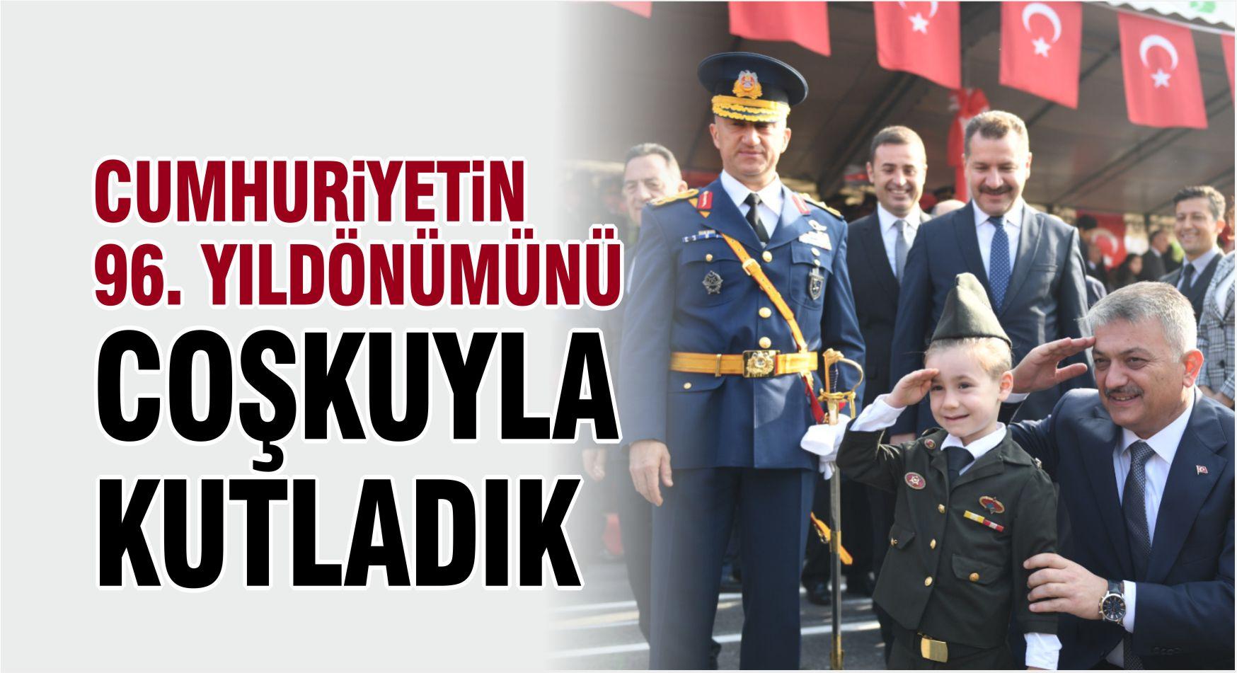 BALIKESİR'DE CUMHURİYET BAYRAMI KUTLAMALARI