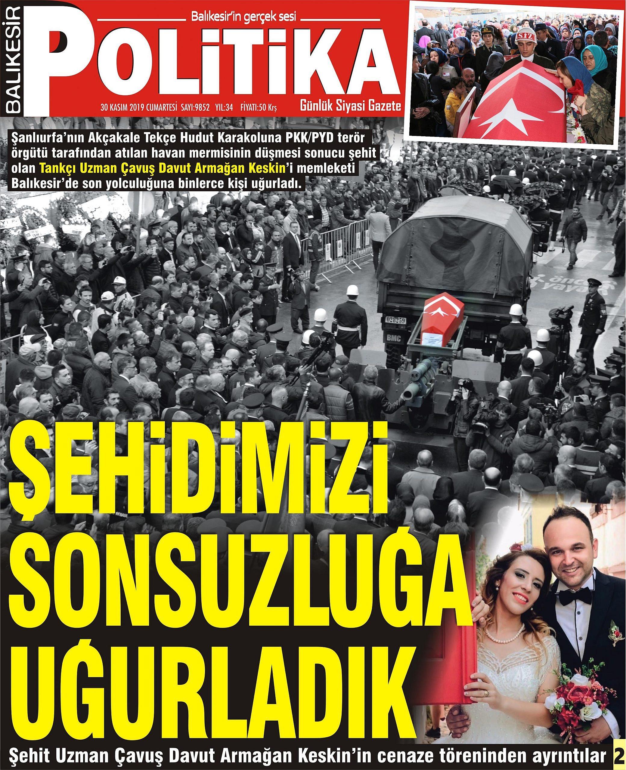 30 KASIM 2019 CUMARTESİ