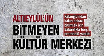 BİTMEYEN KÜLTÜR MERKEZİ!