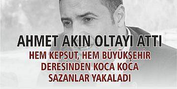 Ahmet Akın oltayı attı; hem Kepsut, hem Büyükşehir deresinden koca koca sazanlar yakaladı!