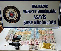 BALIKESİR POLİSİ KUMAR OPERASYONU YAVPTI