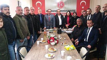 BANDIRMA MHP'DE YENİ YÖNETİM İŞ BAŞINDA