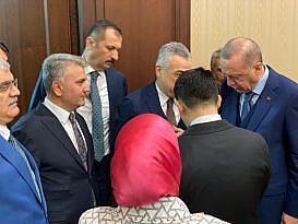CANBEY CUMHURBAŞKANI ERDOĞAN'I BALIKESİR'E DAVET ETTİ