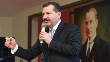 TV100 YÜCEL YILMAZ'IN PEŞİNİ BIRAKMIYOR!