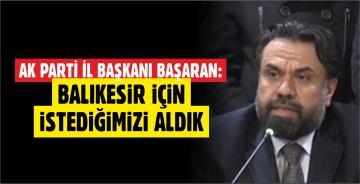 AK PARTİ İL BAŞKANI'NDAN 'ANKARA' AÇIKLAMASI
