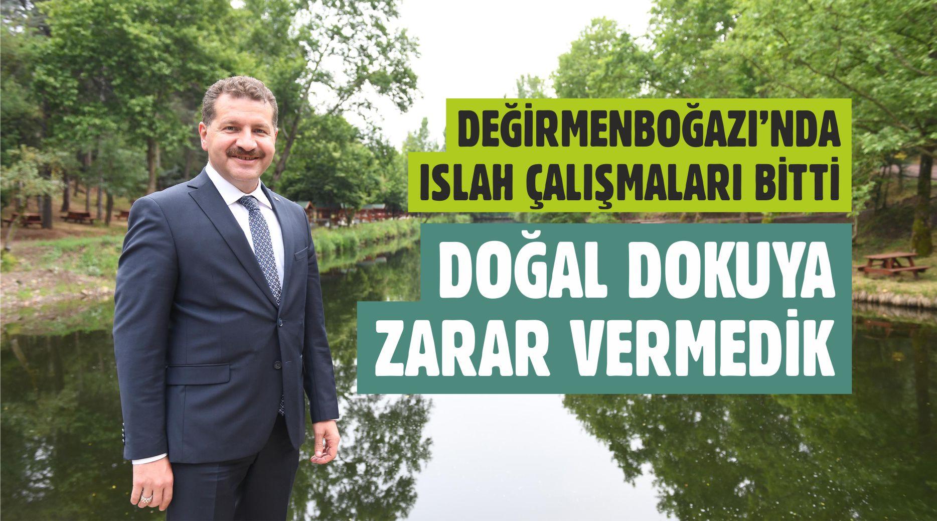 DEĞİRMENBOĞAZI'NA 'ESTETİK' DOKUNUŞ