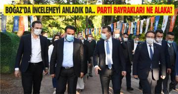 DEĞİRMENBOĞAZI'NDA AK PARTİ TEFTİŞİ!