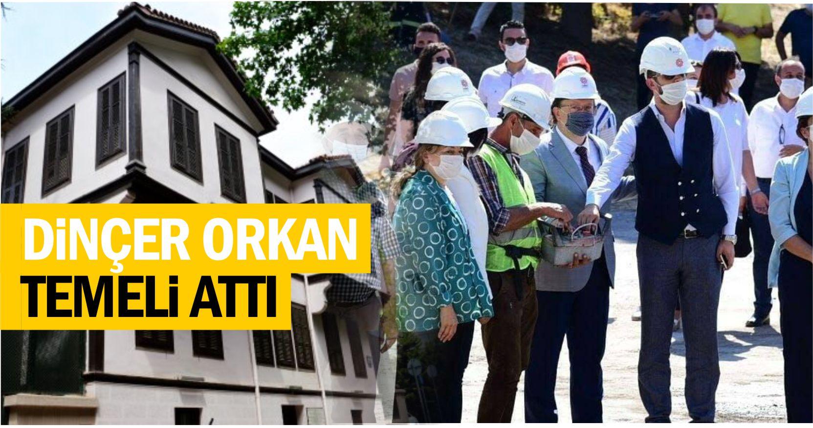SELANİK'TEKİ ATATÜRK EVİ'NİN AYNISI BALIKESİR'DE YAPILIYOR
