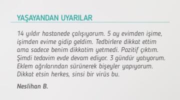 Bakan Koca koronavirüs hastasının uyarılarını paylaştı