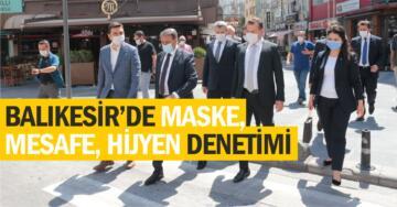 HEP BİRLİKTE KORONAVİRÜS DENETİMİNE ÇIKTILAR