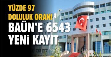 BALIKESİR ÜNİVERSİTESİ KONTENJANLARI YÜZDE 97 DOLDU