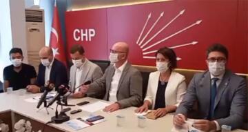 CHP'DE AHMET AKIN VE HÜRMÜZ AVCI'YI TEBRİK TOPLANTISI