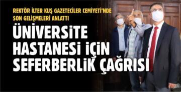 ÜNİVERSİTE HASTANESİ'NDE YENİ GELİŞMELER