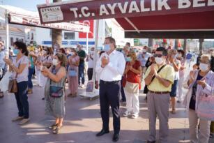SAĞLIK OCAĞI'NDAKİ ŞİDDET OLAYINI PROTESTO ETTİLER