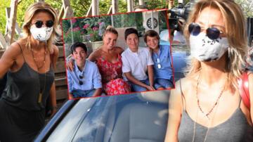 Gülben Ergen çocuklarını okula yollayacak!