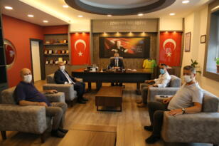 AK PARTİLİ VEKİLDEN CHP'Lİ BELEDİYE'YE ZİYARET