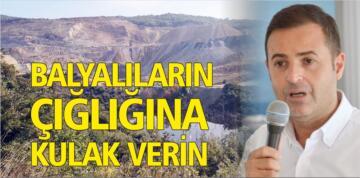 """""""BALYALILARIN ÇIĞLIĞINA KULAK VERİN"""""""