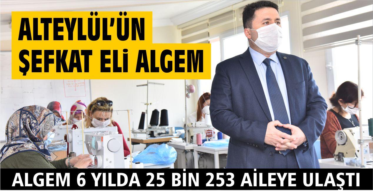 ALTIEYLÜL'ÜN ŞEFKAT ELİ ALGEM