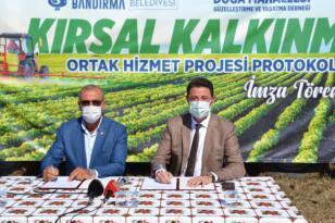 Bandırma'da 662 dönüm arazide nohut ve fasulye ekimi yapacaklar