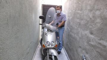 6 YILDIR DEPODA DURAN MOTOSİKLETE CEZA GELDİ