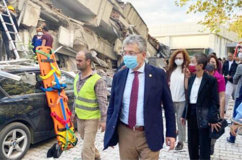 HASAN ARSLAN DEPREME İZMİR'DE YAKALANDI