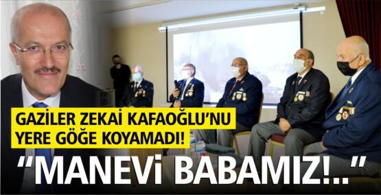 GAZİLER ZEKAİ KAFAOĞLU'NU YERE GÖĞE KOYAMADI!
