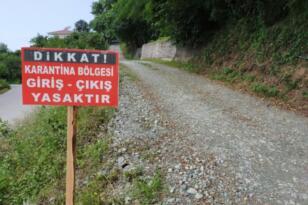 BALIKESİR'DE KARANTİNAYA ALINAN MAHALLE SAYISI ARTIYOR