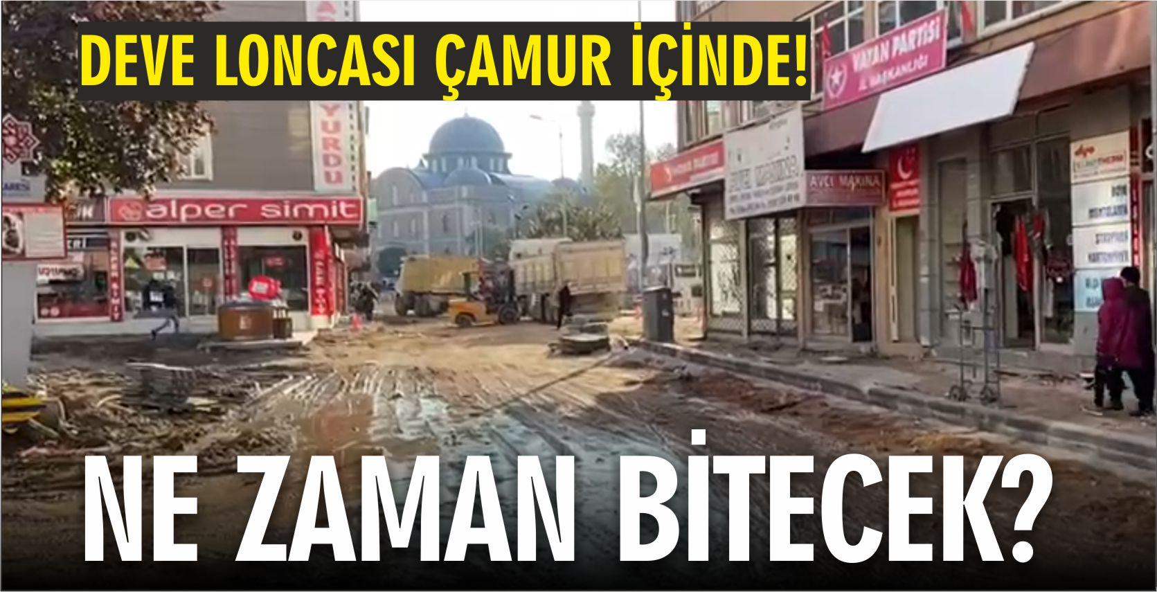 DEVE LONCASI ÇAMUR İÇİNDE!